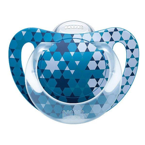 Chupeta Genius Azul - De 0 a 6 meses - Nuk