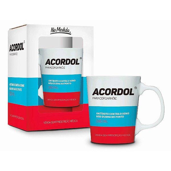 Caneca Premium Remédio Acordol - 280 ml - Brasfoot