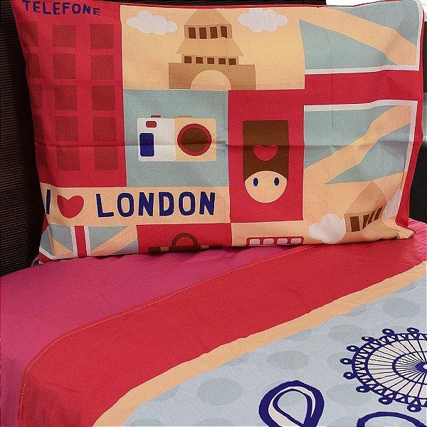 Jogo de Cama London - Lepper