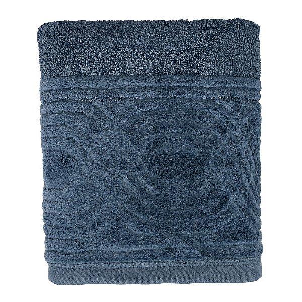Toalha de Rosto Unique Wave - Azul Escuro - Santista
