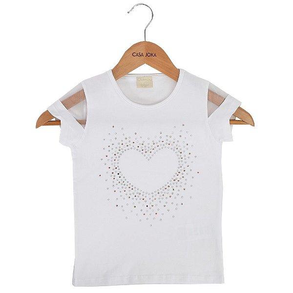 Blusa Infantil Heart 10/14 - Quimby