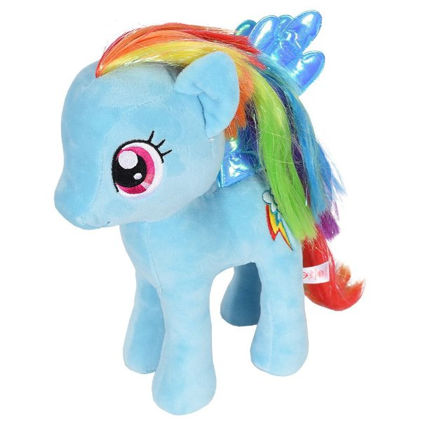 Pelúcia Beanie Buddies My Little Pony - Rainbow Dash - DTC