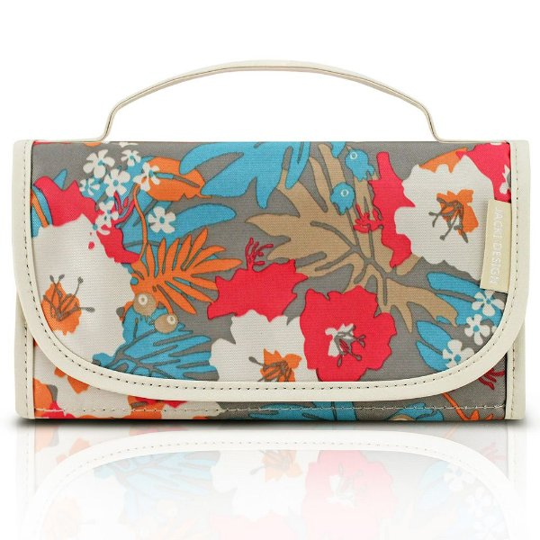 Necessaire Dobrável Miss Douce - Floral - Jacki Design