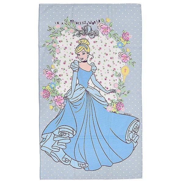 Toalha Infantil Disney - Cinderela - Santista