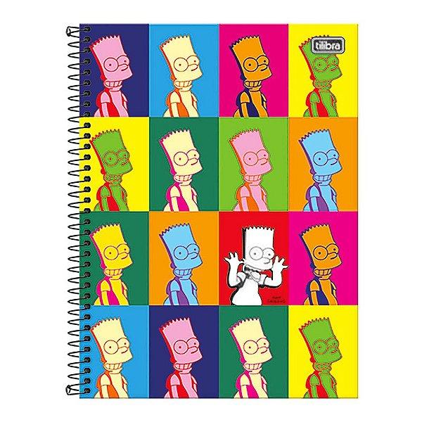 Caderno Os Simpsons - Pop Bart - 10 matérias