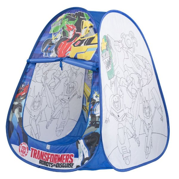 Toca de Colorir Transformers - Braskit