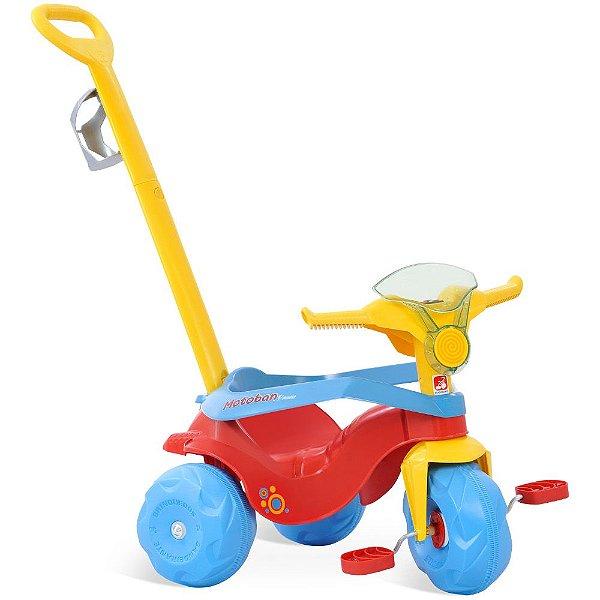Triciclo Infantil Motoban Passeio & Pedal Com Som - Bandeirante
