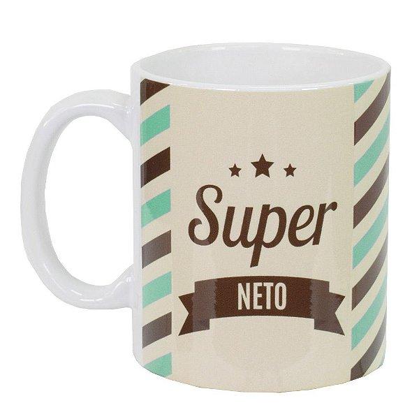 Caneca de Cerâmica - Super Neto - Vikos