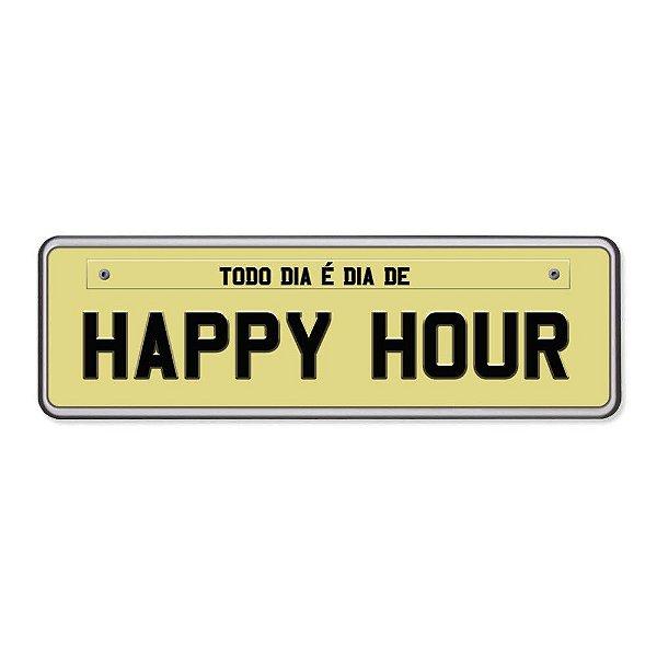 Super Ímãs Placa - Happy Hour - Geguton