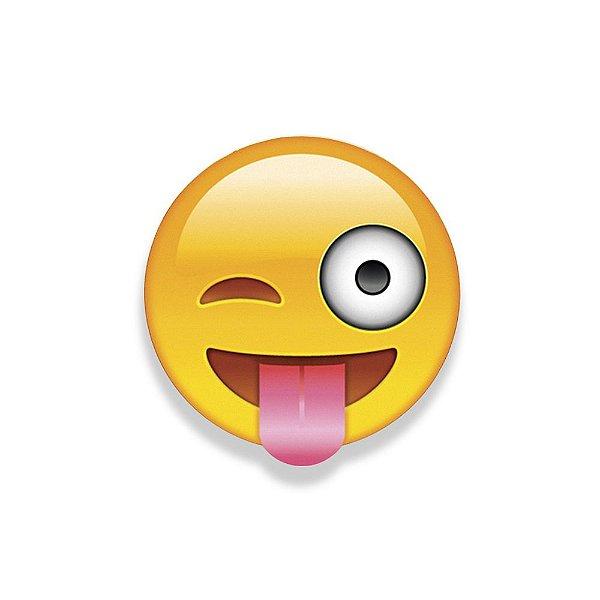Super Ímãs Emojis - Mostrando a Língua - Geguton