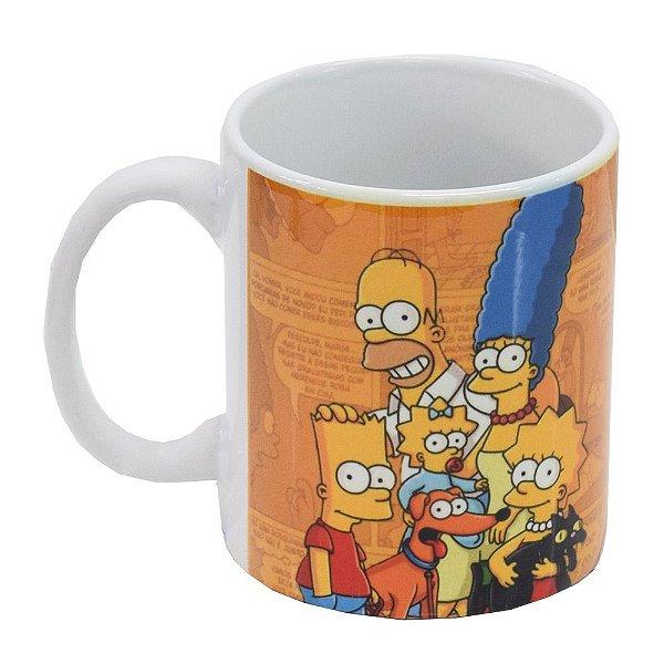 Caneca de Cerâmica - Os Simpsons - Vikos