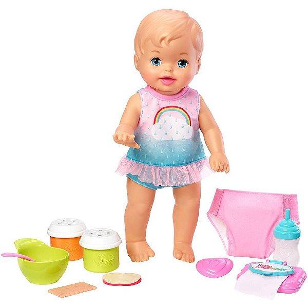 Boneca Little Mommy Bebê Faz Xixi Deluxe
