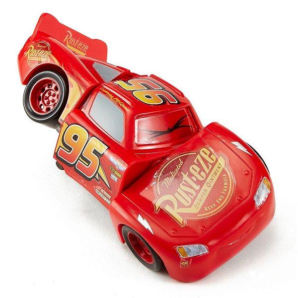 Carrinho Bate e Vira - Carros 3 - Relâmpago McQueen - Mattel