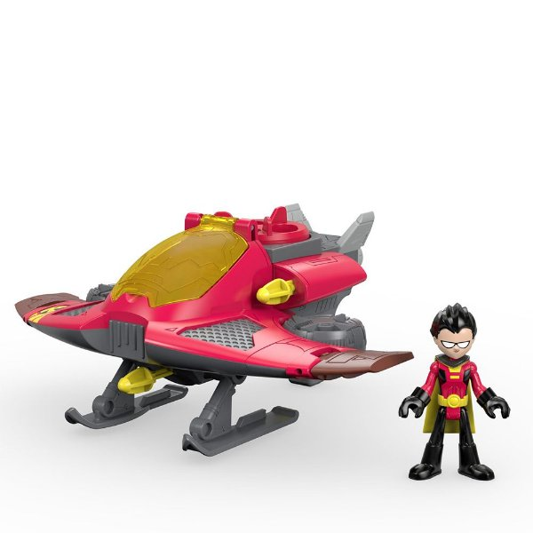 Imaginext Teen Titans Go - Robin & Jato