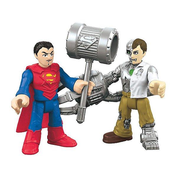 Imaginext - Super Homem e Metallo - Super Friends
