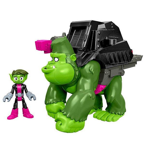 Imaginext Teen Titans Go - Mutano & Gorila