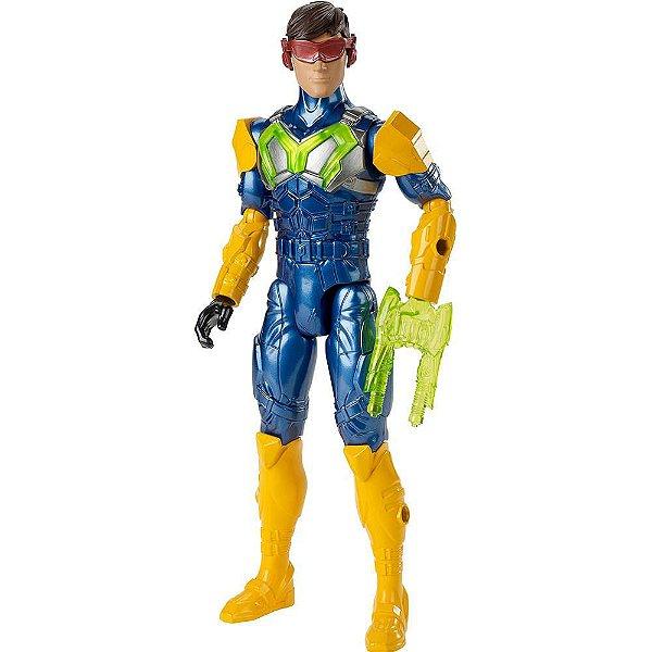 Boneco Max Steel - Max Turbo Equipamento - Mattel
