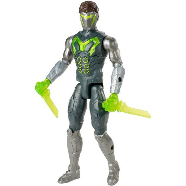 Boneco Max Steel - Max Ataque Camuflado - Mattel