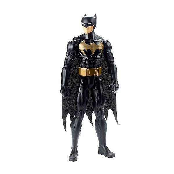 Boneco Batman Preto e Dourado - Justice League 30 cm - Mattel
