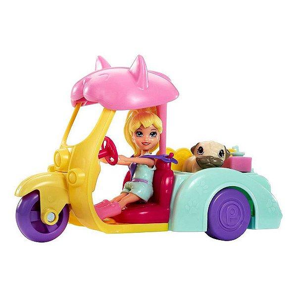 Polly Pocket - Carrinho dos Bichinhos - Mattel