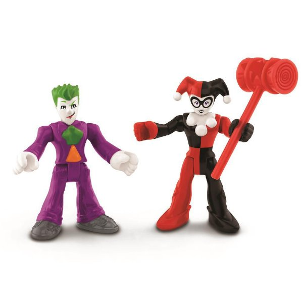 Imaginext - Coringa e Alerquina - Super Friends