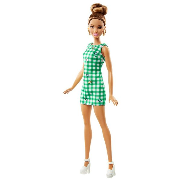 Barbie Fashionista - Emerald Check - Mattel