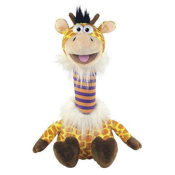 Pelúcia Fantoche  Girafa - Pet Repet Zoo - DTC