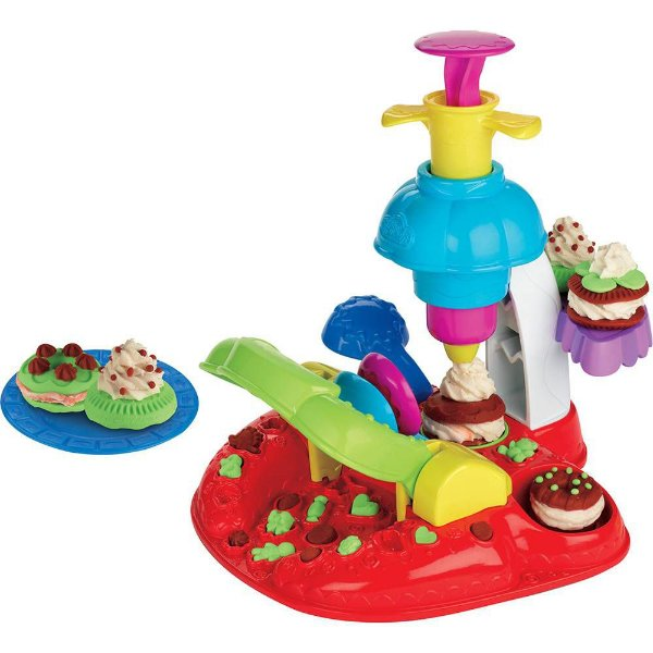 Play-Doh Sweet Shoppe - Fábrica de Biscoitos - Hasbro