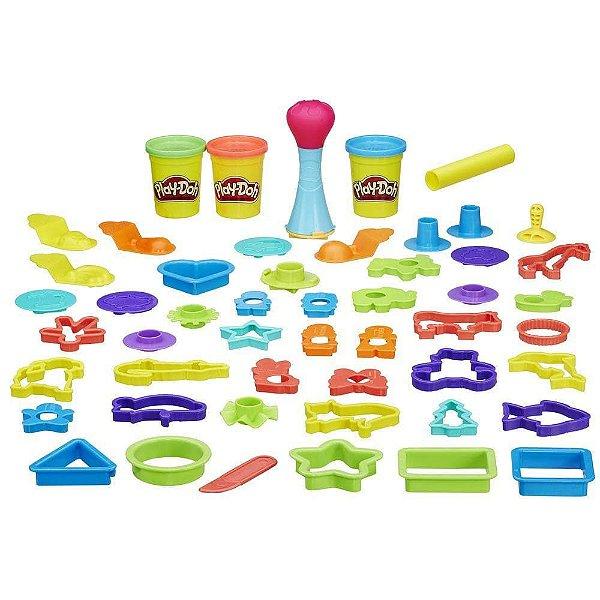 Play-Doh Super Kit Molde Mania - Hasbro