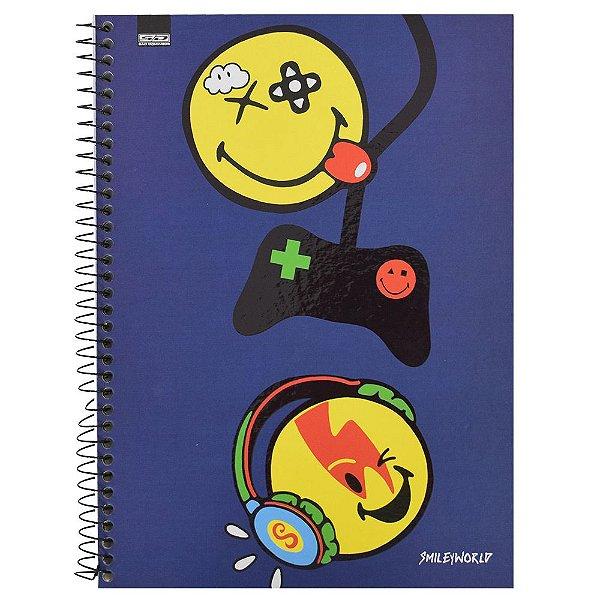 Caderno Smiley - Game - 1 matéria - São Domingos