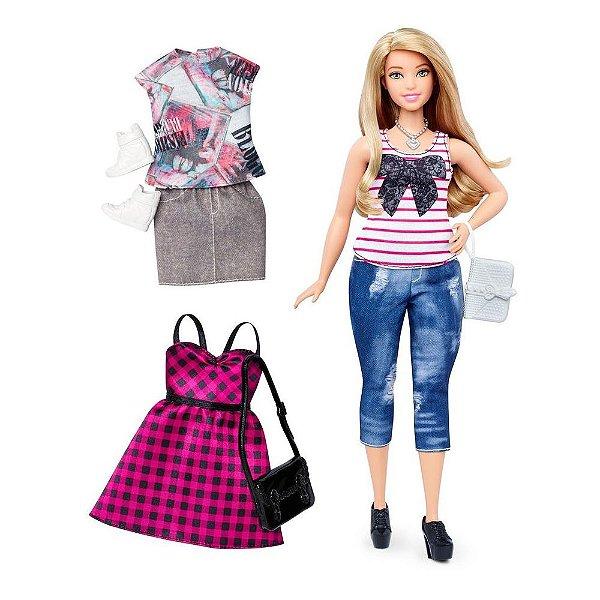 Barbie Fashionista com Acessórios - Everyday Chic Curvy