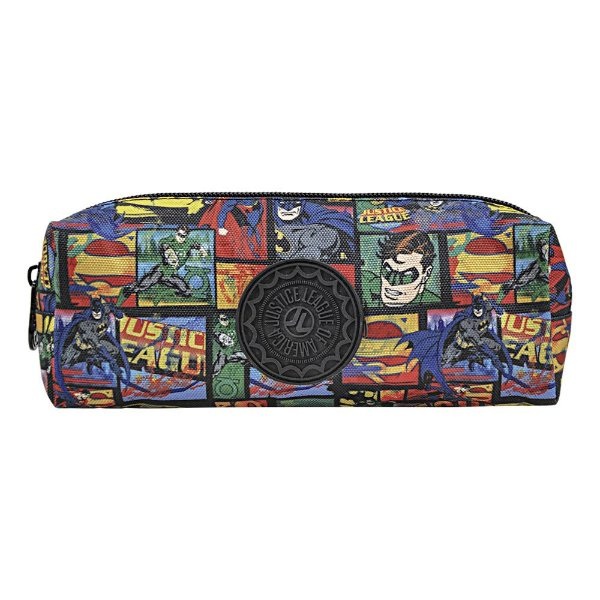 Estojo Liga da Justiça - Super Heróis - Xeryus