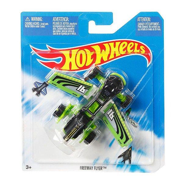Hot Wheels - Aviões SkyBusters - Freeway Flyer - Mattel
