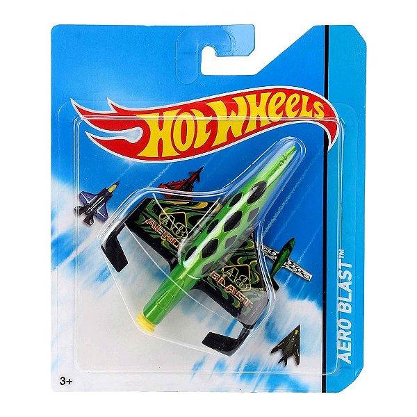Hot Wheels - Aviões SkyBusters - Aero Blast - Mattel