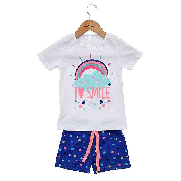 Conjunto Pijama Feminino + Almofada Unicórnio - Malwee