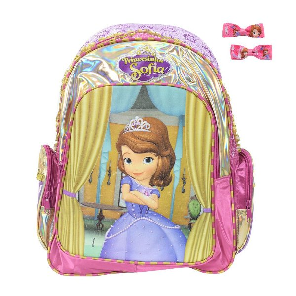 Mochila Infantil Princesinha Sofia - DMW