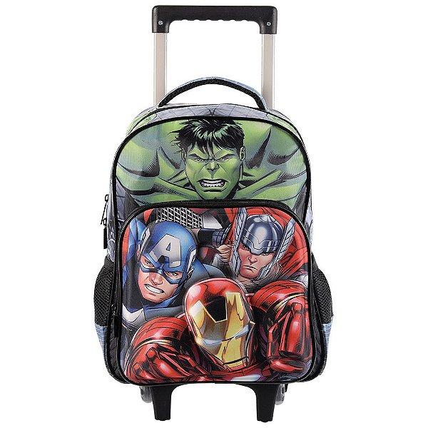 """Mochila de Carrinho Avengers Elite 16"""" - Xeryus"""
