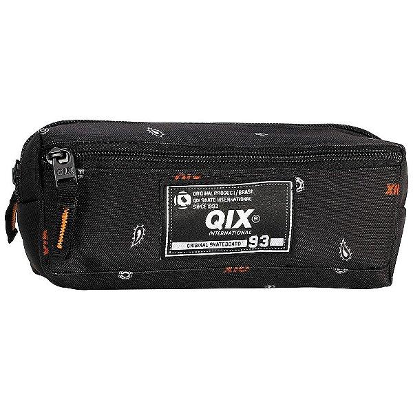 Estojo Original Skateboard - Preto - 2 Divisórias - QIX