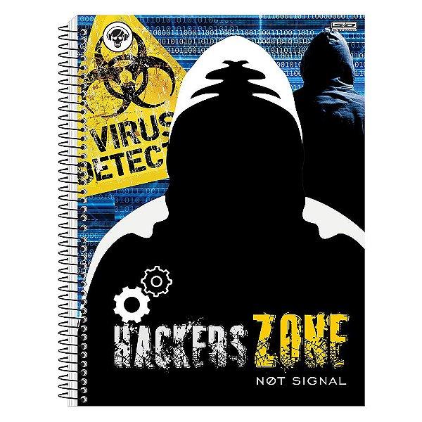 Caderno Hackers - Hacker Virus Detect -1 Matéria - São Domingos