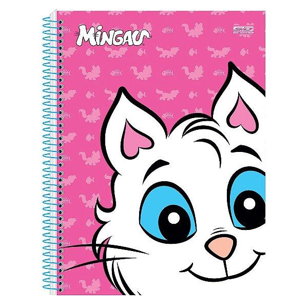 Caderno Mingau Rosa - 1 matéria - São Domingos