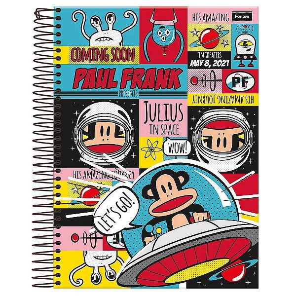 Caderno Paul Frank - Space - 10 Matérias - Foroni