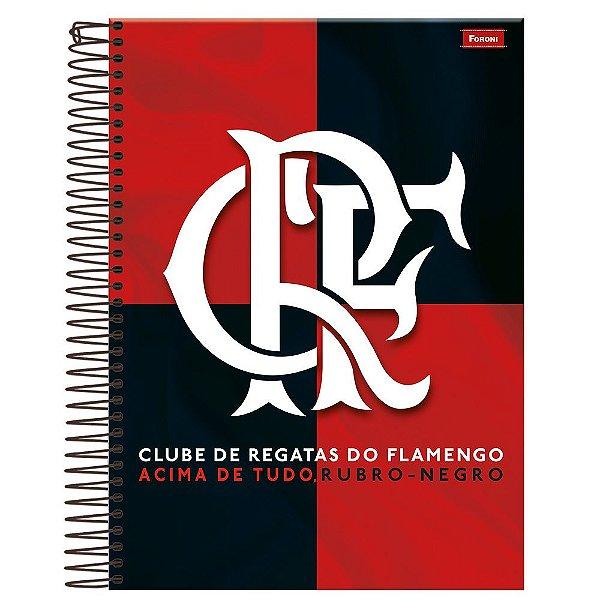 Caderno Flamengo - Clube de Regatas do Flamengo - 10 Matérias