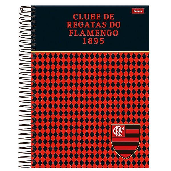 Caderno Flamengo 1895 - 10 Matérias - Foroni