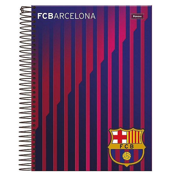 Caderno Barcelona - Listras - 10 Matérias - Foroni