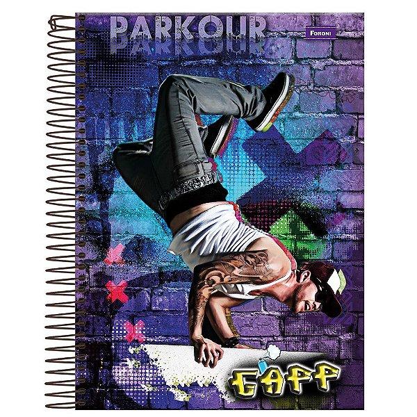 Caderno Gapp - Parkour - 1 Matéria - Foroni