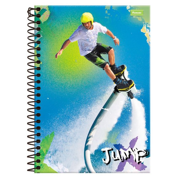 Caderno Jump - Flyboard - 10 Matérias - Foroni