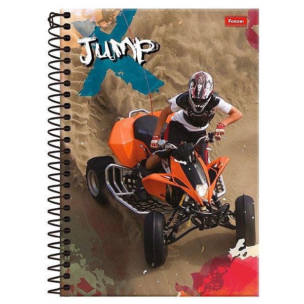 Caderno Jump - Quadriciclo - 10 Matérias - Foroni