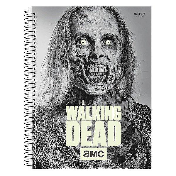 Caderno The Walking Dead - Zumbi - Brilha no Escuro - 1 matéria