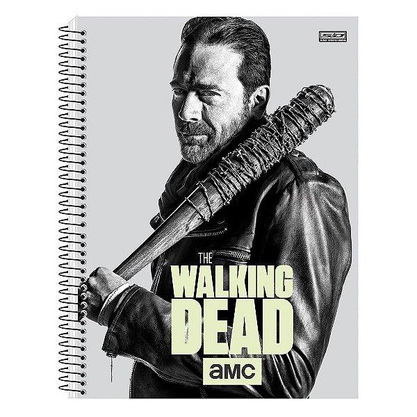 Caderno The Walking Dead - Negan - Brilha no Escuro - 1 matéria