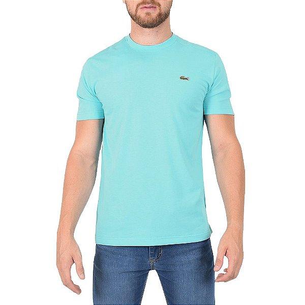 Camiseta Masculina Básica Sport - Azul - Lacoste - Casa Joka bd61c6978bb